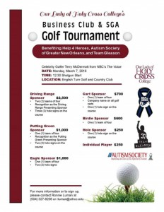 3-7-16 OLHC Business Club Golf Tournament Flyer