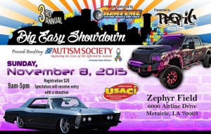 2015 Big Easy Showdown Postcard
