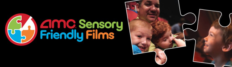 AMC Sensory Friendly Films logo