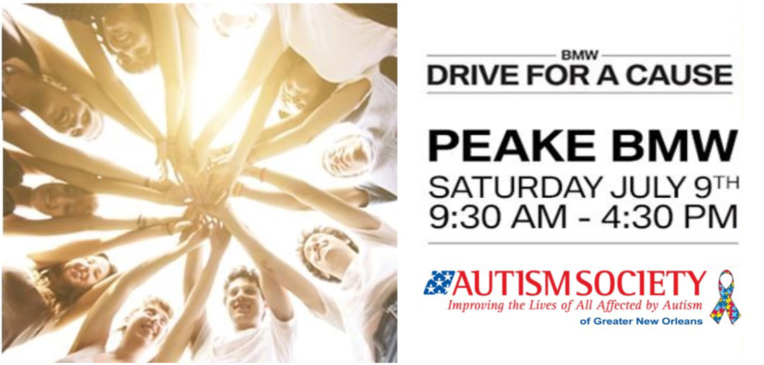 Peake BMW Drive for a Cause logo 3